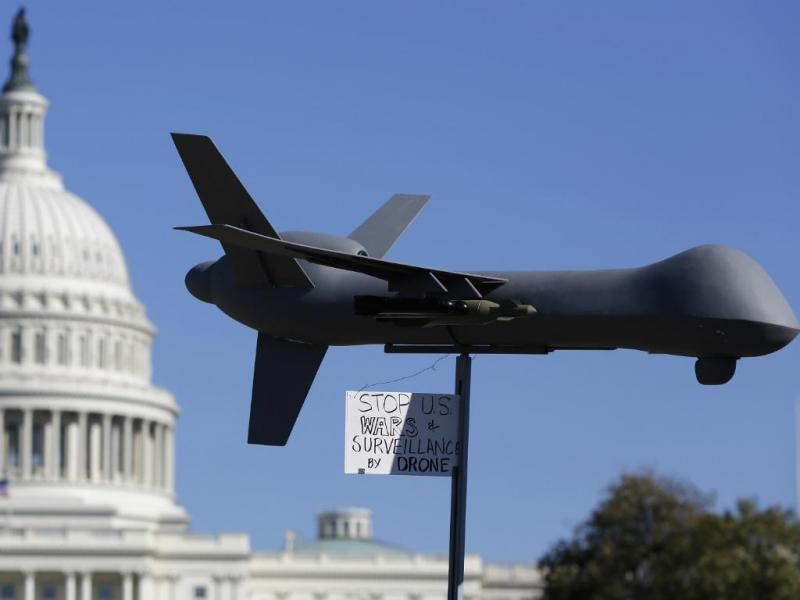 Modelo drone EUA (Reuters)
