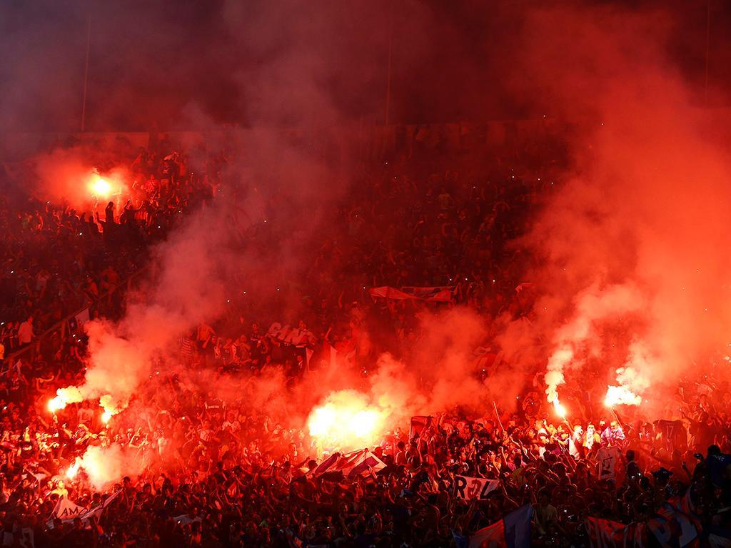 Racing -Deportivo Tachira (REUTERS/ Carlos Eduardo Ramirez)