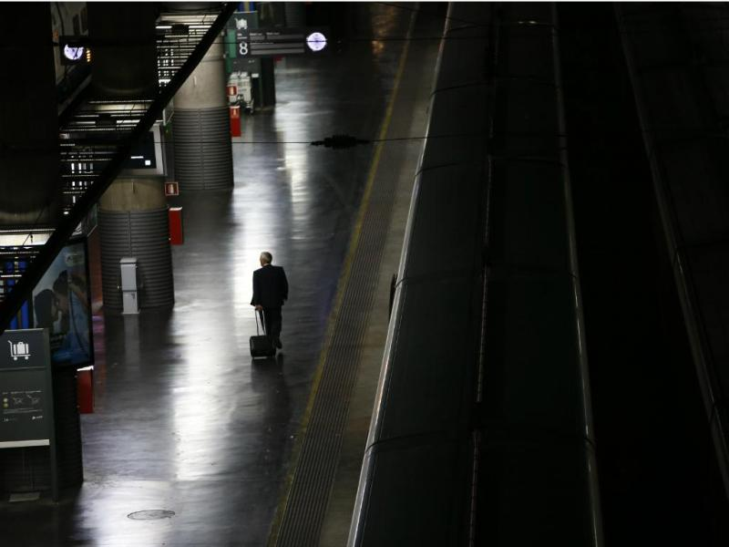 Metro de Madrid [Reuters]