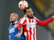 Dnipro-Olympiacos (REUTERS/ Valentyn Ogirenko)