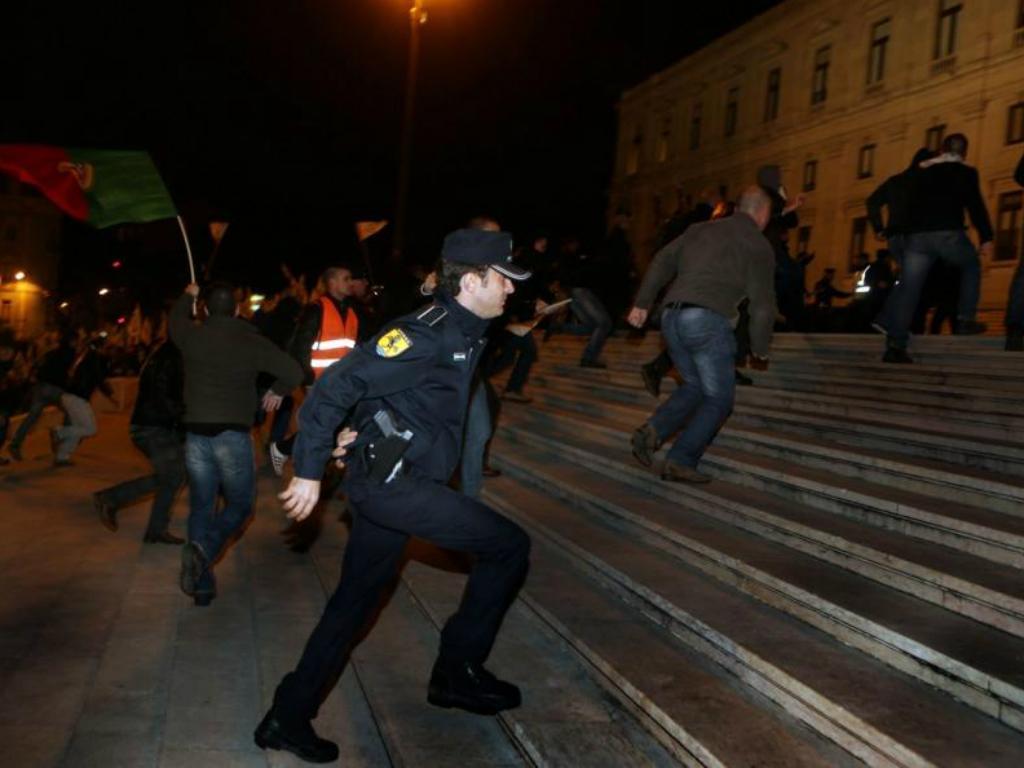 Manifestação das forças de segurança (Lusa)