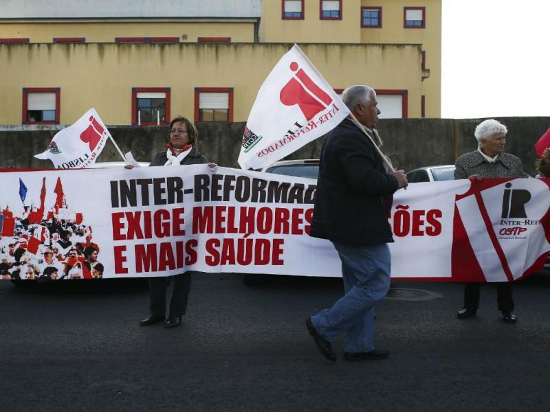 Marcha pelo Serviço Nacional de Saúde (Lusa)