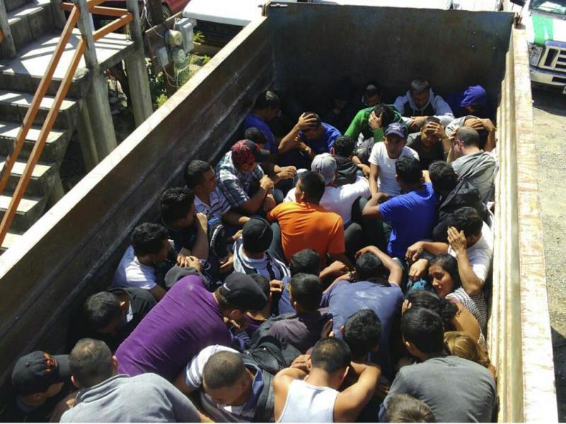 Autoridades mexicanas resgatam 77 estrangeiros [Reuters]