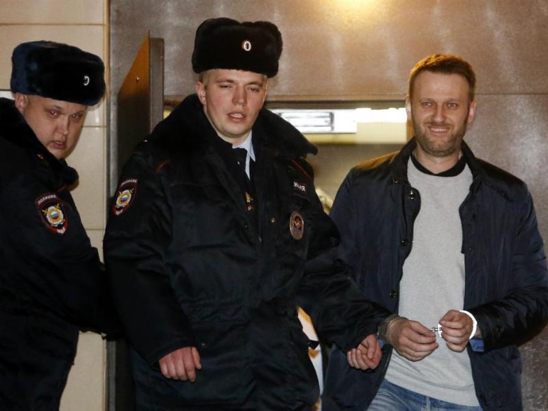 Alexei Navalny [Reuters]