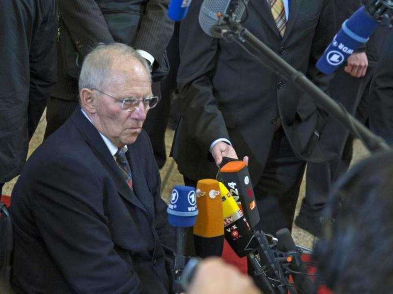 Wolfgang Schäuble [Foto: Reuters]