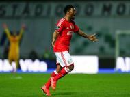 Moreirense-Benfica (LUSA/ Estela Silva)