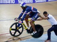 Ciclismo de pista (REUTERS /Charles Platiau)