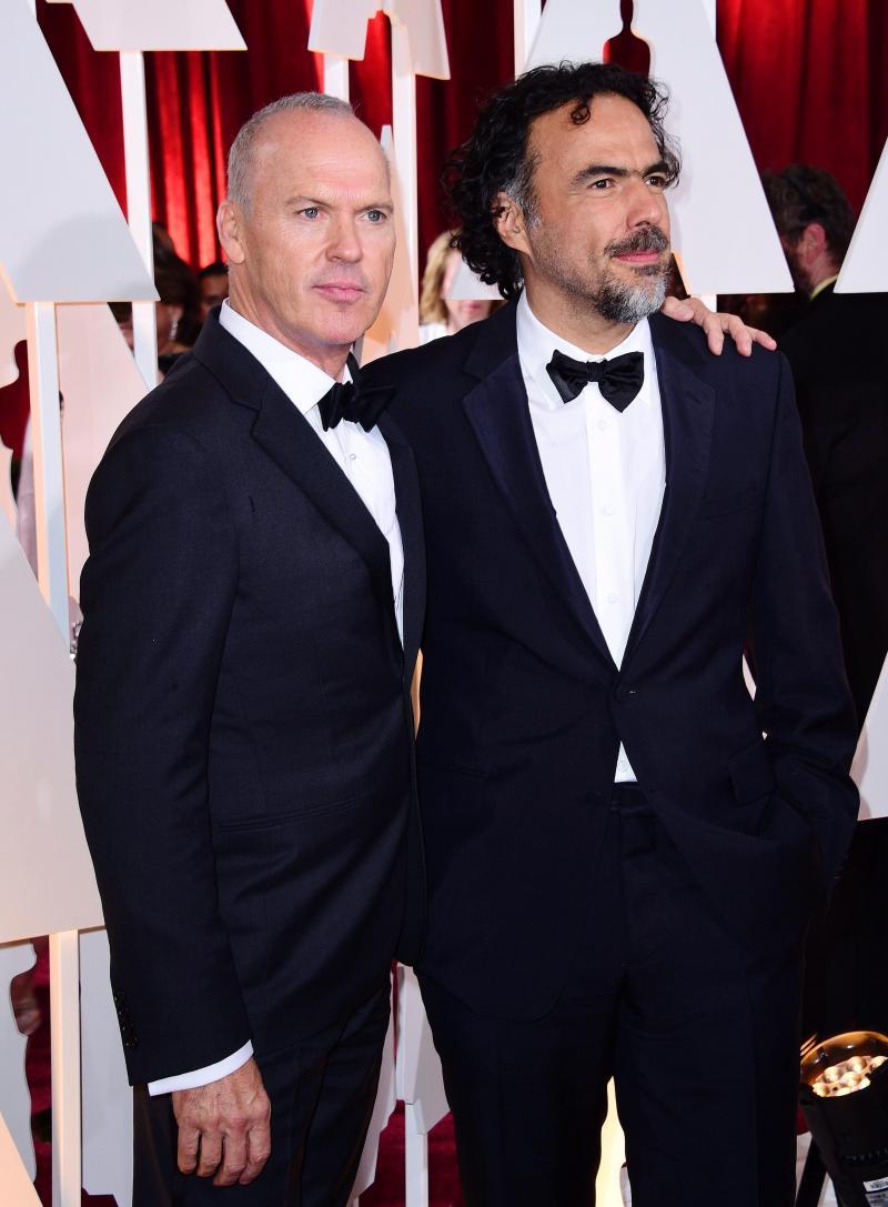 Michael Keaton e Alejandro Gonzalez Inarritu