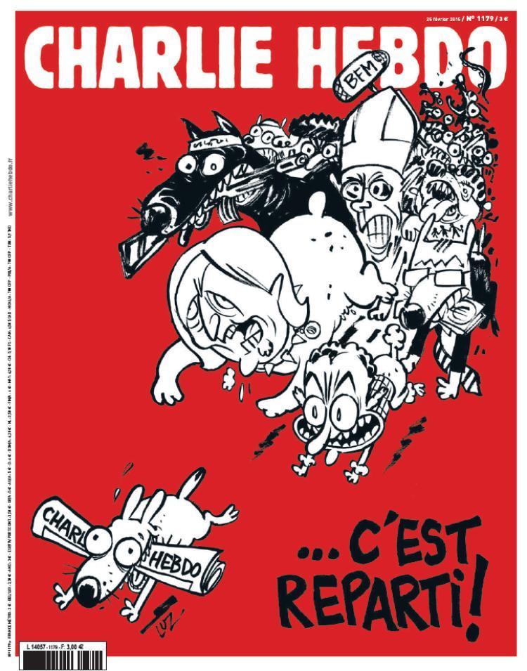 Nova edição do jornal «Charlie Hebdo»