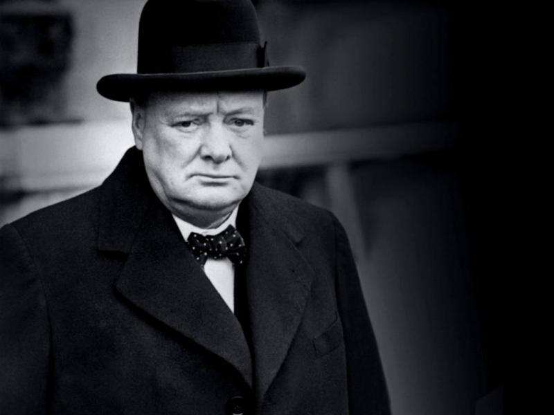 Winston Churchill (Reprodução)