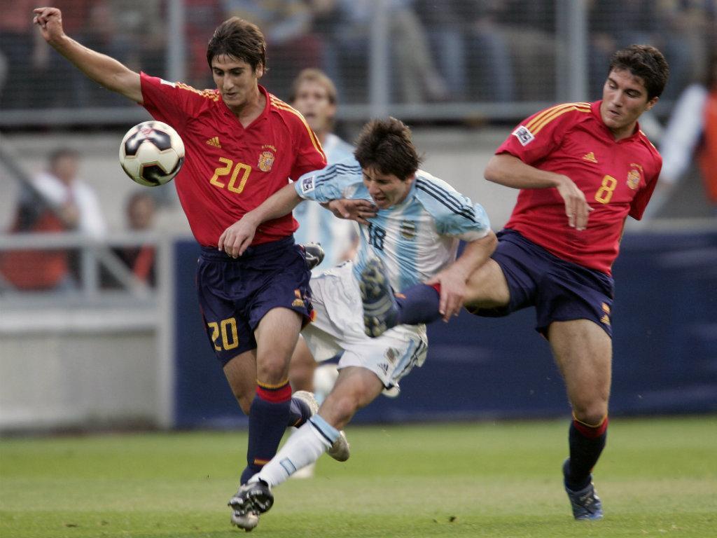 Argentina-Espanha sub-20, 2005