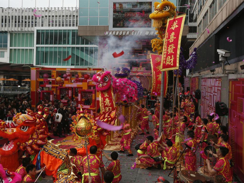 Celebração do Ano Novo Lunar na China [Reuters]