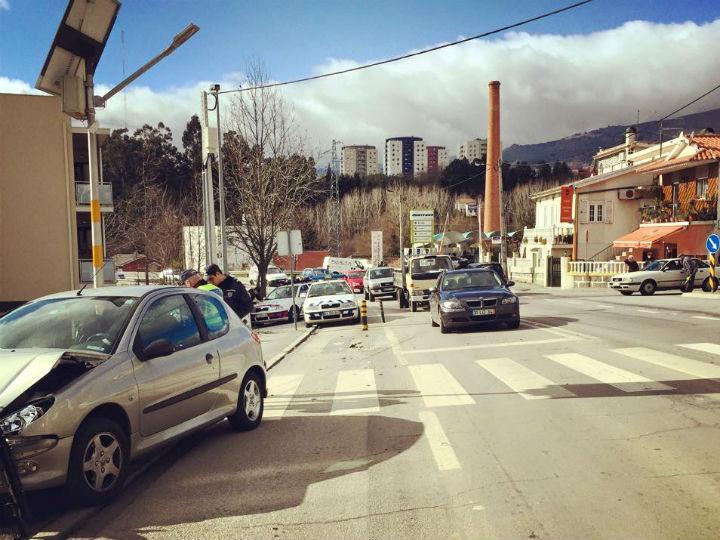 Atropelamento em Vila Real (Miguel Cabral/TVI)