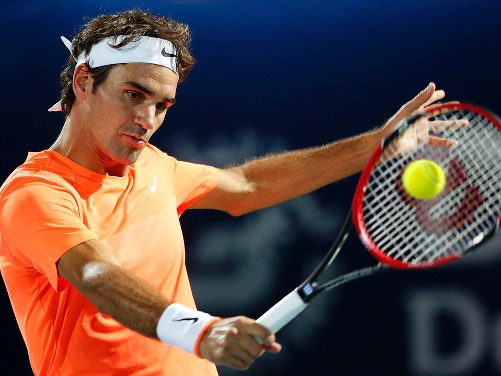 Roger Federer Fernando Verdasco (REUTERS/ Ahmed Jadallah)