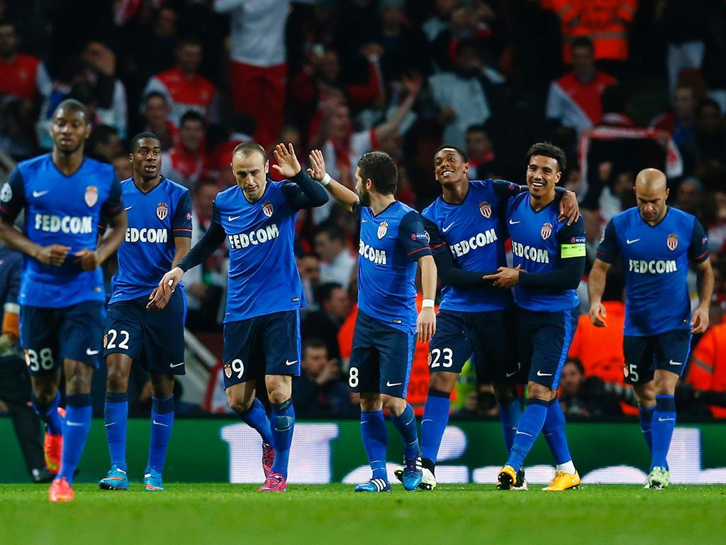 Arsenal-Mónaco (Reuters/ John Sibley)