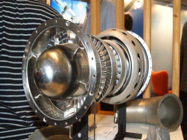 Motor de avião impresso em 3D