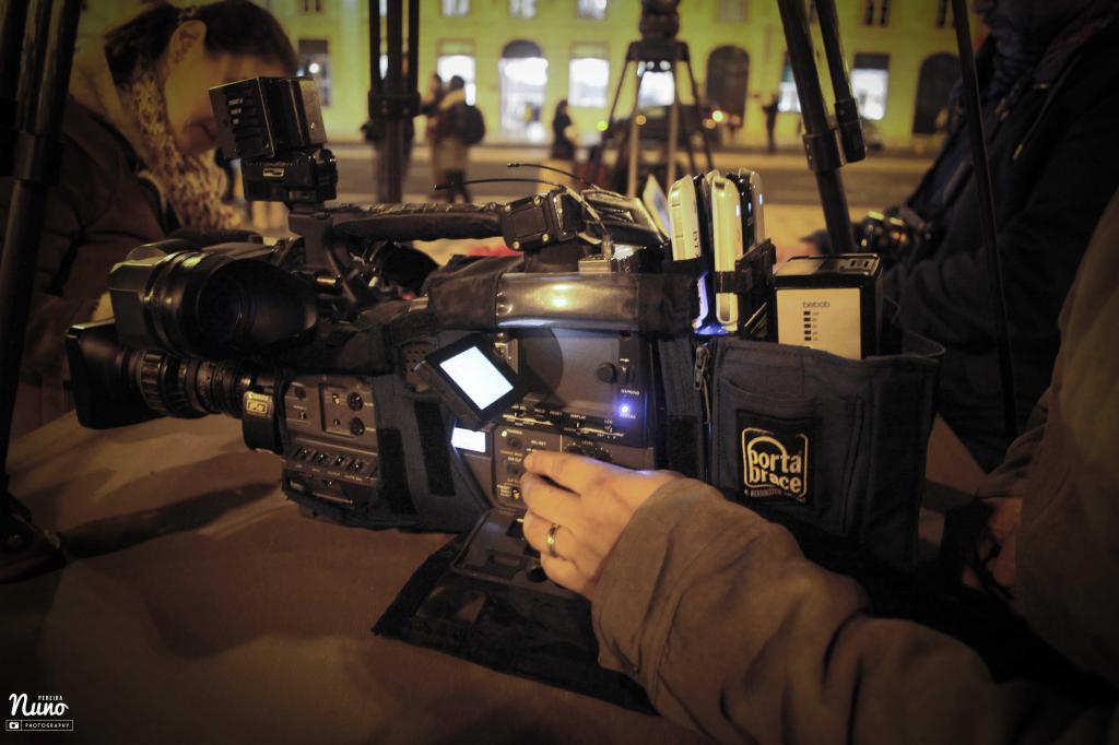 Redação da TVI (foto: Nuno Pereira)