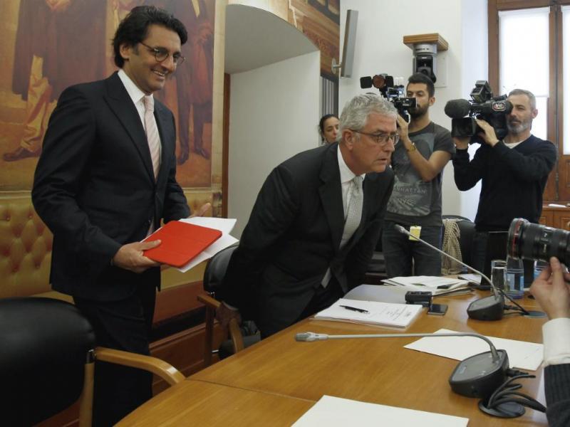 Zeinal Bava ouvido na Comissão de Inquérito do BES [LUSA]