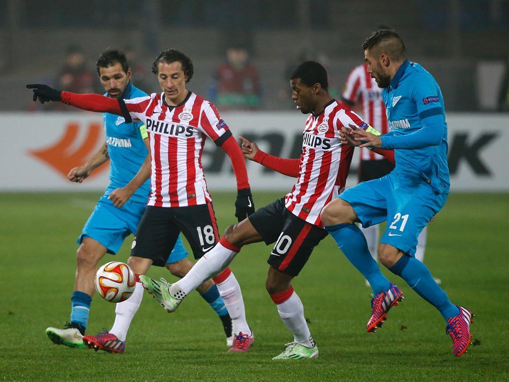 Zenit-PSV (REUTERS/ Maxim Zmeyev)