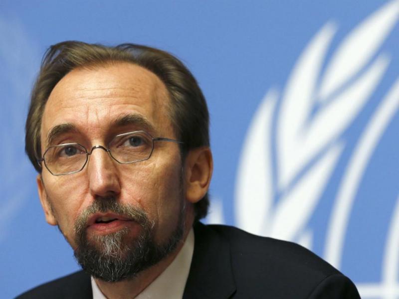 Zeid Ra'ad Al-Hussein (Reuters)