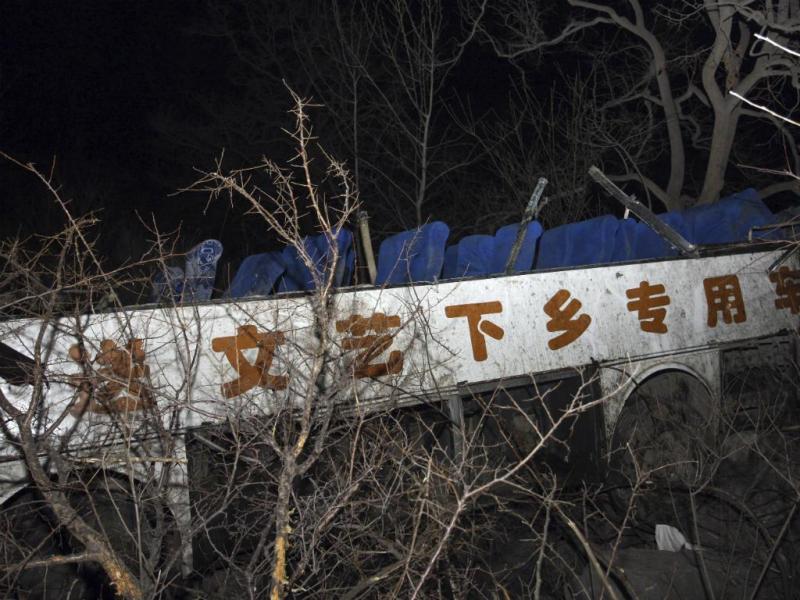Acidente com autocarro faz 20 mortos na China (Reuters)