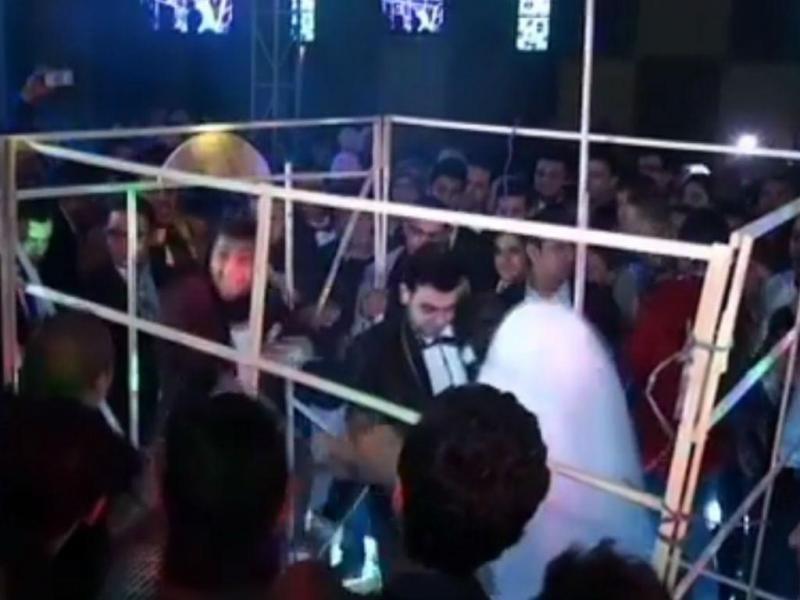 Noivos fazem festa inspirada no Estado Islâmico (Reprodução Facebook)