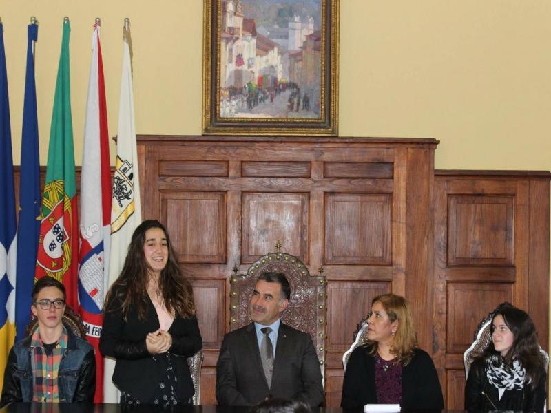 Sofia Pais é a autarca mais nova do país (Facebook / Município de Santa Maria da Feira)