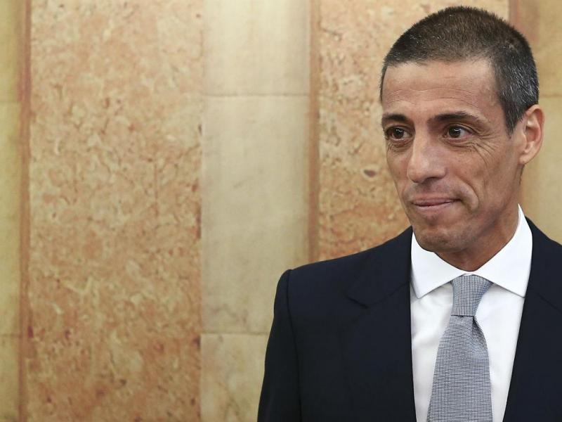 Administrador financeiro da Portugal Telecom SGPS, Luís Pacheco de Melo ()ANTÓNIO COTRIM/LUSA