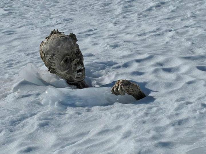 Múmias encontradas no México