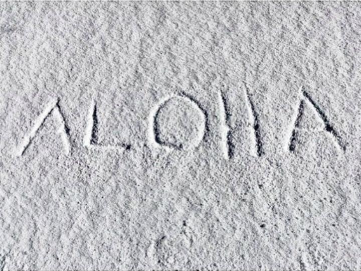 Mauna Kea, no Havai, está coberta de neve [Instagram]
