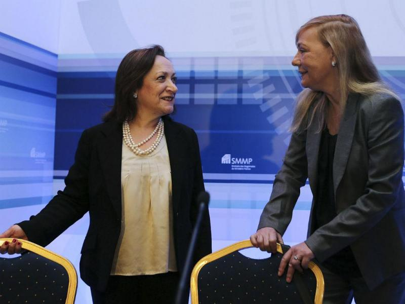 Joana Marques Vidal e Paula Teixeira da Cruz [Foto: Lusa]