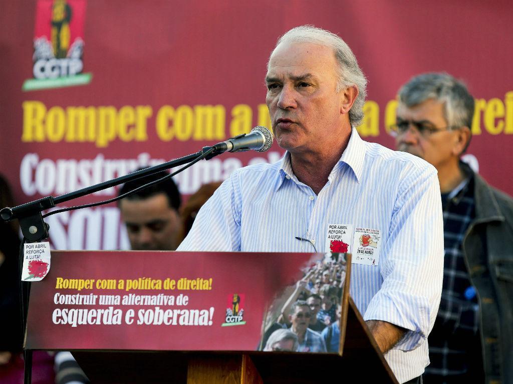 Arménio Carlos [Foto: Lusa]