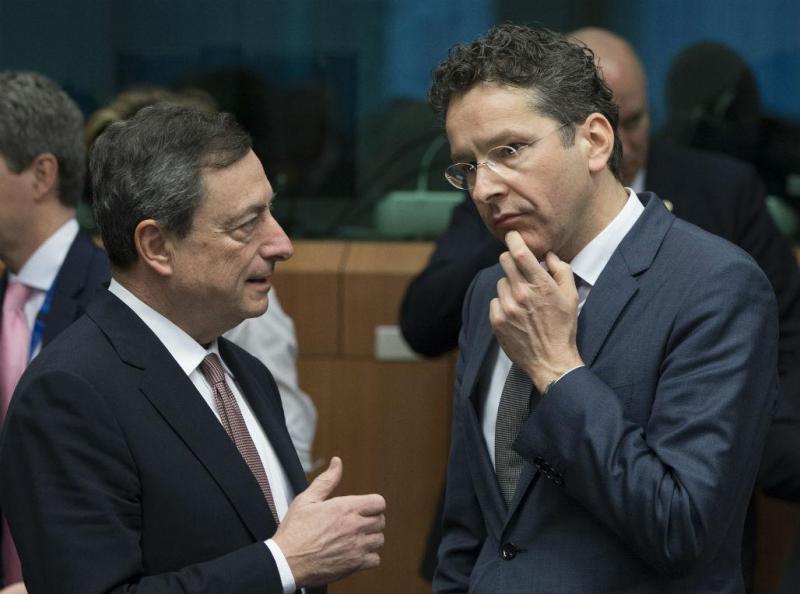 Draghi e Dijsselbloem
