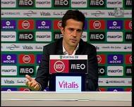 Marco Silva comenta os assobios a Nani