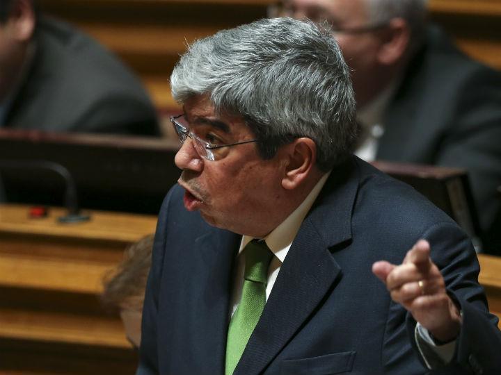 Ferro Rodrigues no debate quinzenal (MANUEL DE ALMEIDA/LUSA)