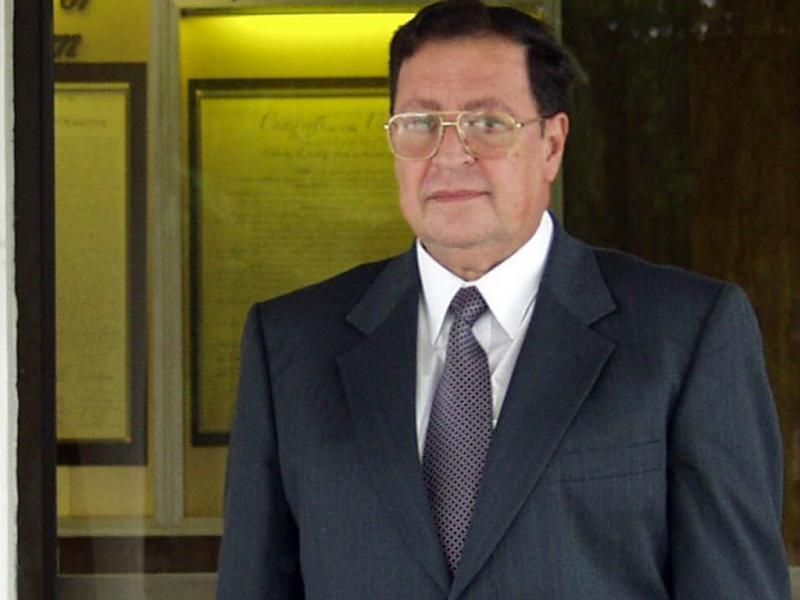 Carlos Eugenio Vides Casanova [Reuters]