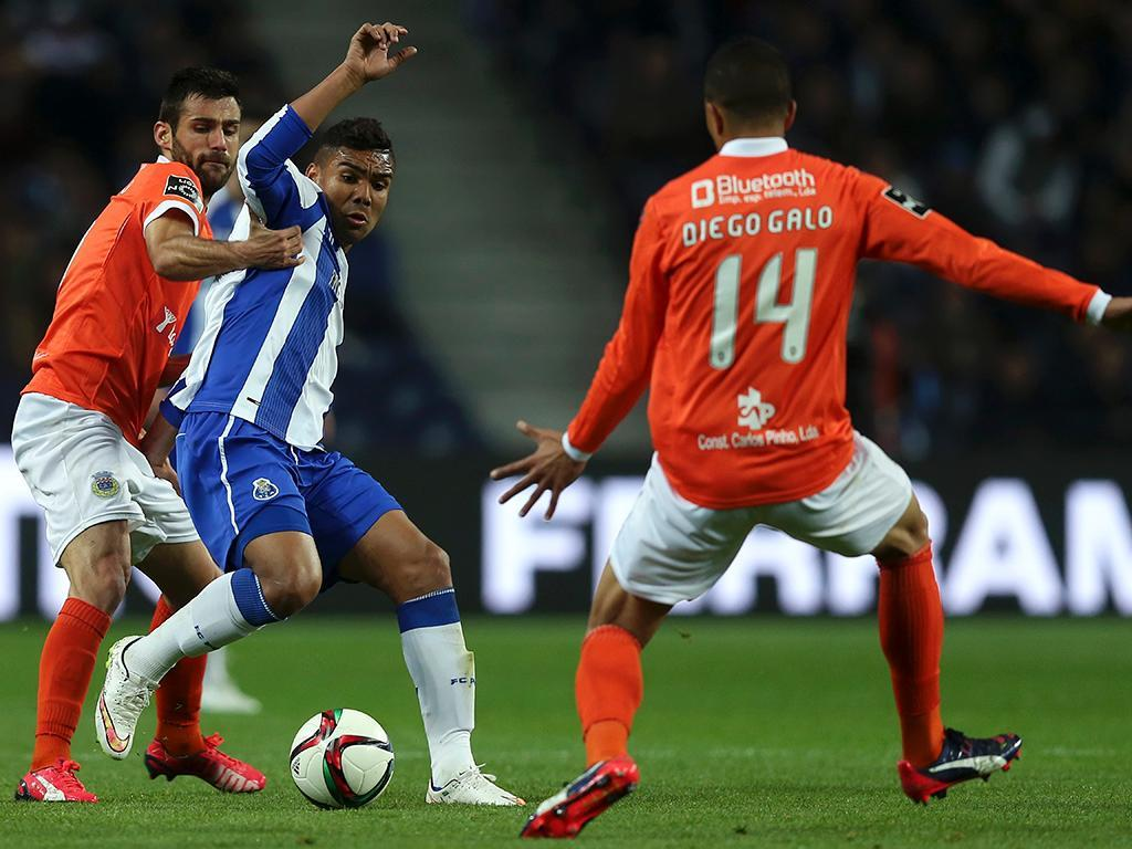 FC Porto-Arouca (LUSA/ Estela Silva)