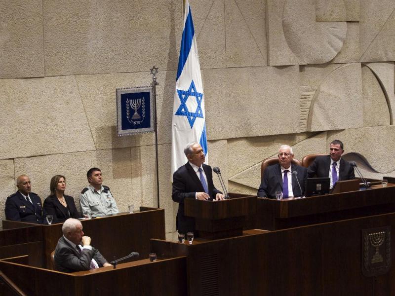 Benjamin Netanyahu no parlamento israelita (REUTERS)