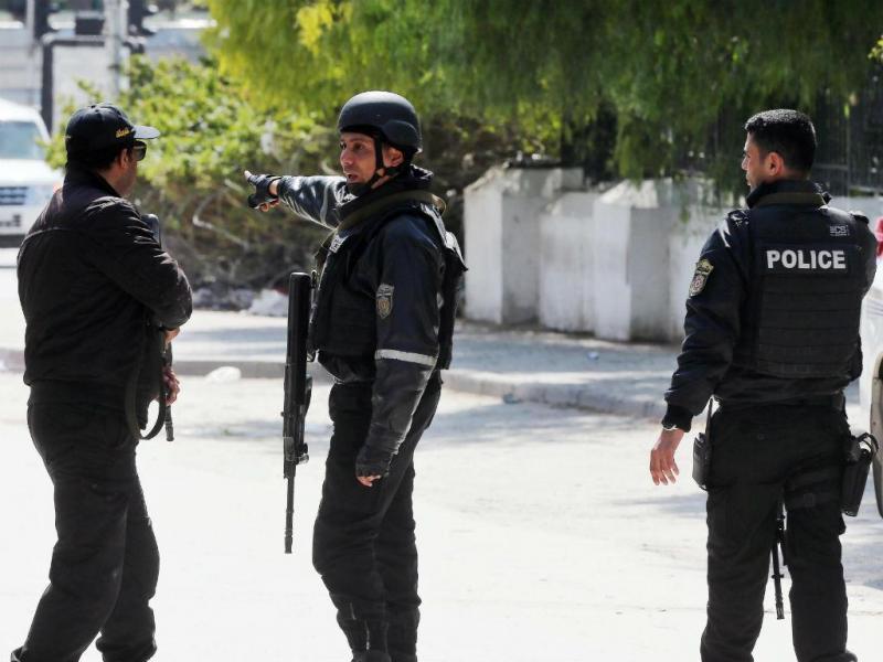 Ataque ao complexo do Parlamento da Tunísia (EPA)