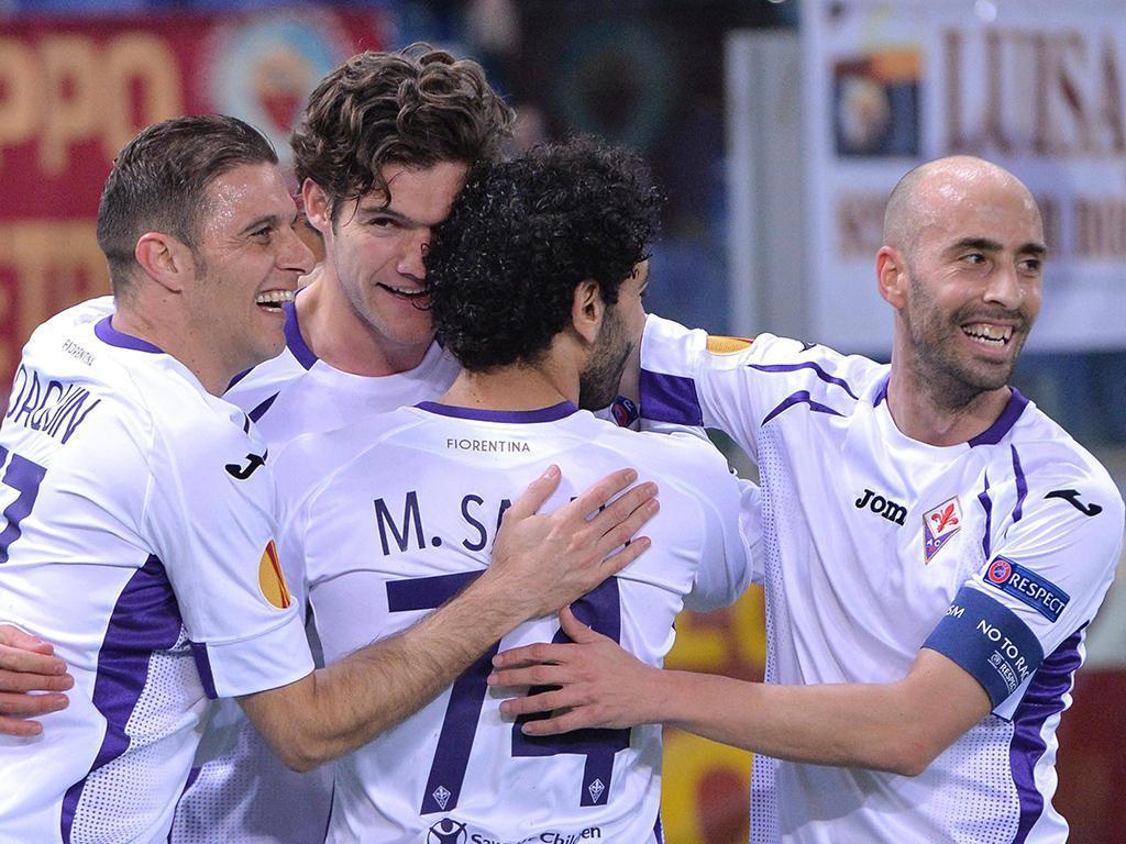 Roma-Fiorentina (EPA/ MAURIZIO BRAMBATTI)
