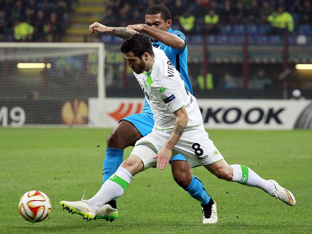 Inter-Wolfsburgo (REUTERS/ Alessandro Garofalo)