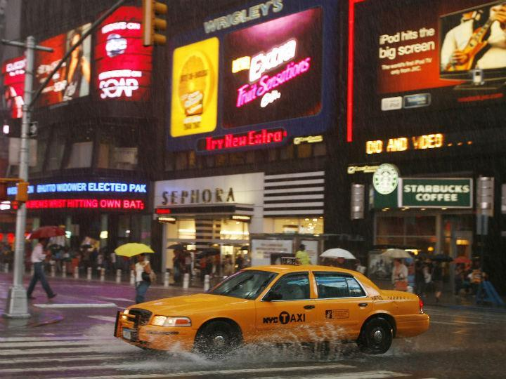 Táxis em Nova Iorque (Reuters)