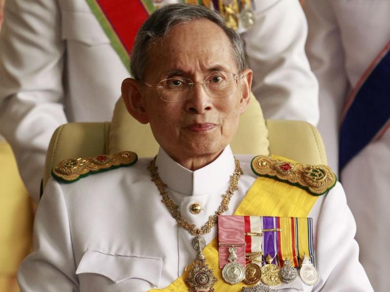 Rei da Tailândia, Bhumibol Adulyadej (Reuters)