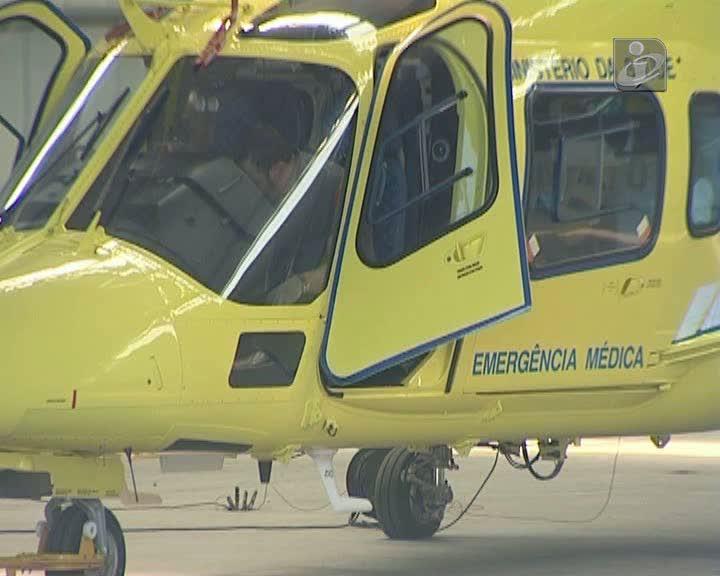 Inquérito aberto a transporte de doente em helicóptero do INEM