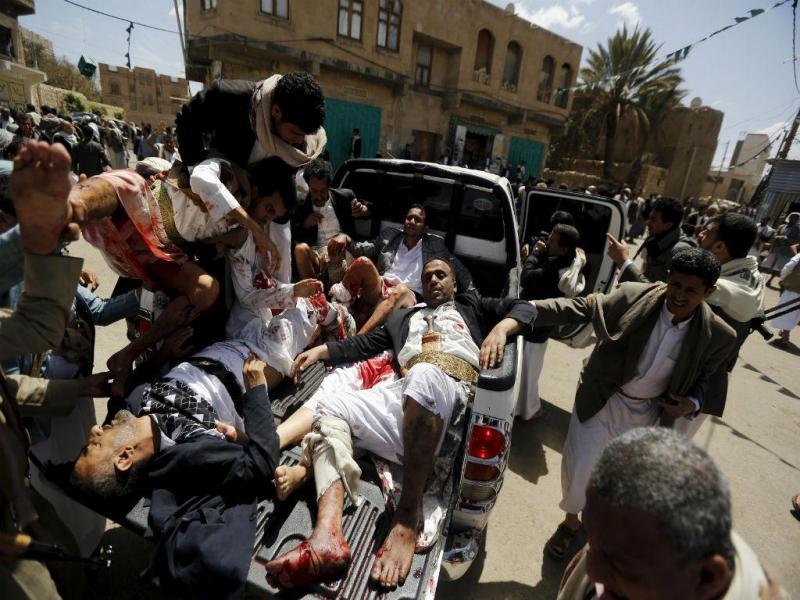 Ataques no Iémen [Reuters]