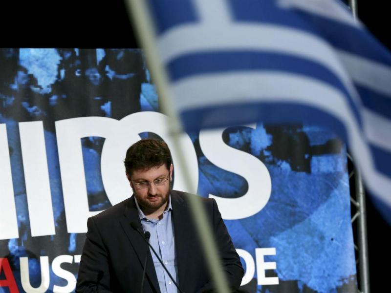 Costas Zachariadis, Syriza (STEVEN GOVERNO/LUSA)