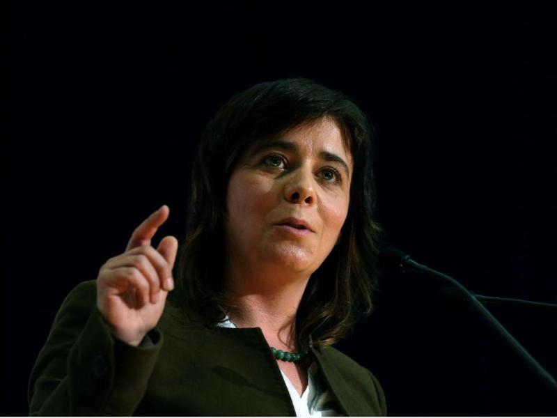 Catarina Martins (STEVEN GOVERNO/LUSA)