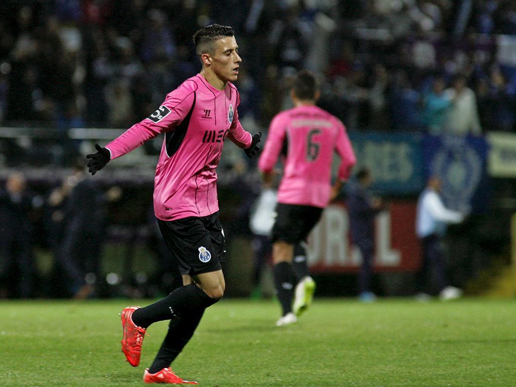 Nacional-FC Porto (LUSA/ Homem de Gouveia)