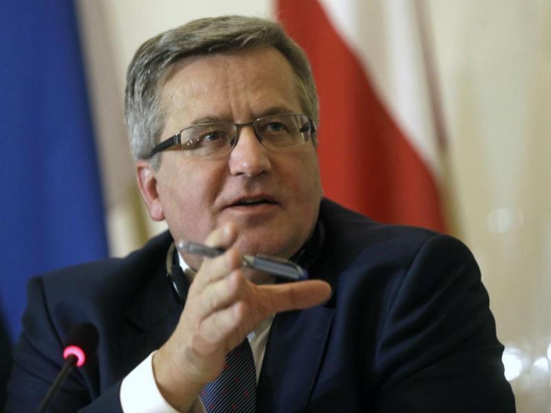 Presidente da Polónia, Bronislaw Komorowski (REUTERS)