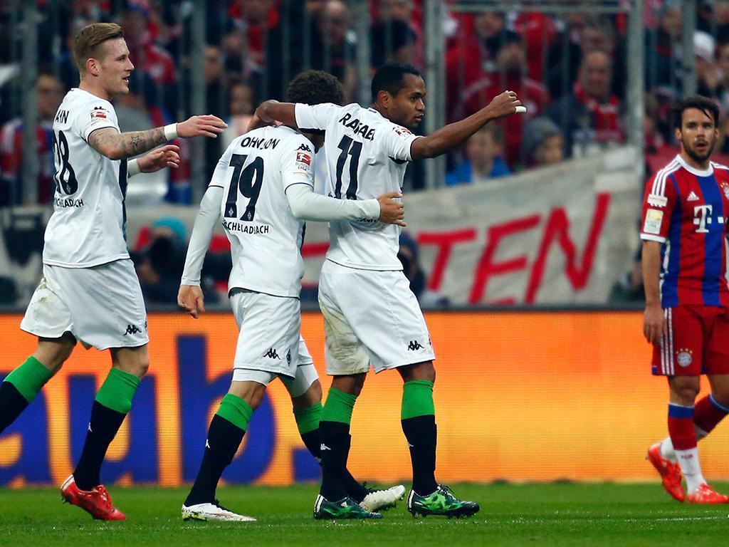Bayern-Monchengladbach (REUTERS/ Michael Dalder )